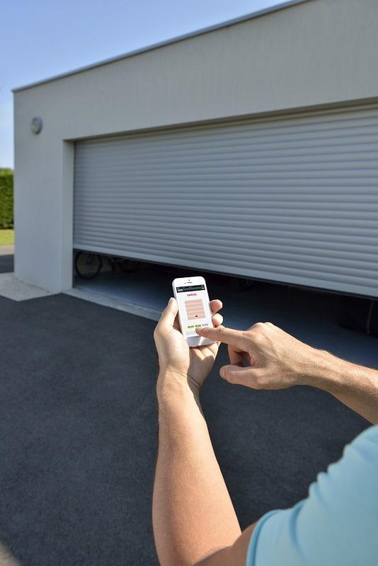 connectivité pour les portes de garage